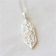 Eden Necklace Silver-jewellery-The Vault