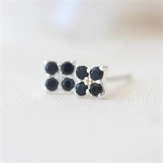 Clover Studs Silver-jewellery-The Vault