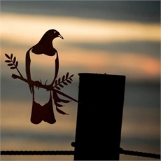 Metalbird Steel Woodpigeon Kereru Large-artists-and-brands-The Vault