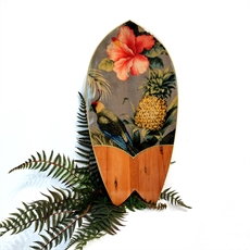 Handplane Rimu Parrot and Pineapple-artists-and-brands-The Vault