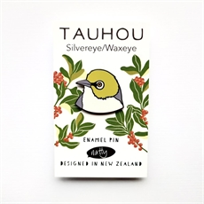 Tauhou Waxeye Enamel Pin-jewellery-The Vault