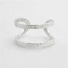 Wrap Ring Silver-jewellery-The Vault