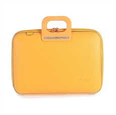 "Classic Firenze Laptop Bag 15"" Yellow-artists-and-brands-The Vault"