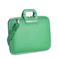 "Classic Laptop Bag 13"" Emerald Green-artists-and-brands-The Vault"