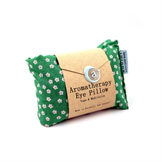 Aromatherapy Eye Pillow Green Blossom-artists-and-brands-The Vault