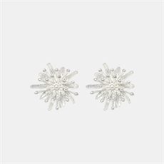 Mt Cook Lily Silver Studs-jewellery-The Vault