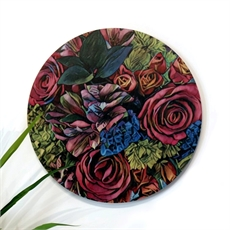 Outdoor Round Bouquet 3 Floral 590mm-artists-and-brands-The Vault