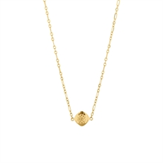 Mini Marigold Necklace Gold Plate-jewellery-The Vault