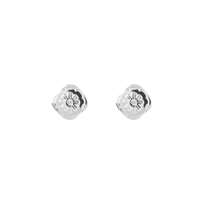 Marigold Studs Silver-jewellery-The Vault