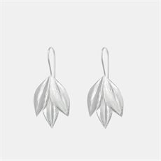 Athena Hook Earrings Silver-jewellery-The Vault