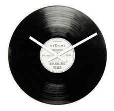 Wall Clock Record Player 43cm -clocks-The Vault
