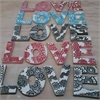 Borrowed Earth LOVE ceramic letter set-home-and-wedding--The Vault