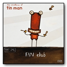 Fan Club Box Frame-tin-man-The Vault