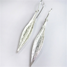 Karohirohi Earrings Silver Short-jewellery-The Vault