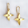 Jasmine Hook Earrings 22ct Gld Plate-jewellery-The Vault