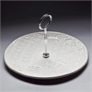 Single Cake Stand - White
