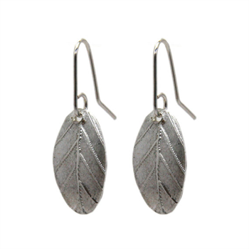 Silver Garland Earrings