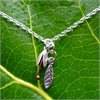 Bud and Leaf Necklace - Stg Copper-jewellery-The Vault