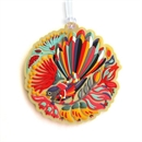 Luggage Tag Colourful Fantail