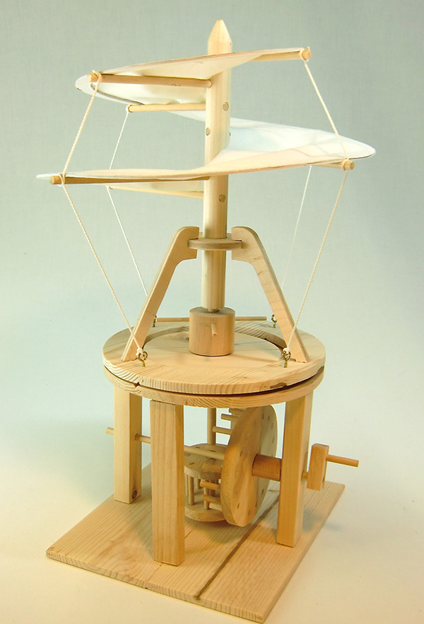 Model Da Vinci Helicopter Nz All Children S Gifts The