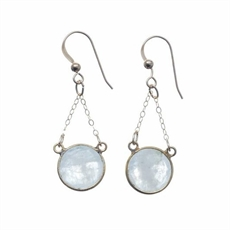 Luxe 12mm Moonstone Earrings-pam-kerr-The Vault