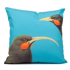Cushion Cover Huia Cyan-home-The Vault