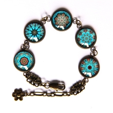 Blue Moroccan Bracelet by Katy Grace -katy-grace-The Vault