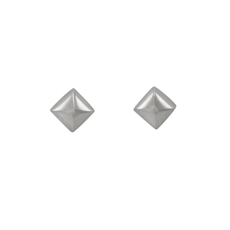 Pyramid Studs - Stg Silver-kerry-rocks-The Vault