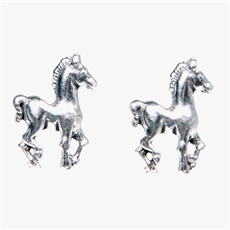 Pony Earrings-pam-kerr-The Vault