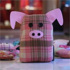 Blanket Toy Pig Large  -view-all-children's-gifts-The Vault