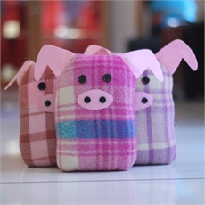 Blanket Toy Pig Small-view-all-children's-gifts-The Vault