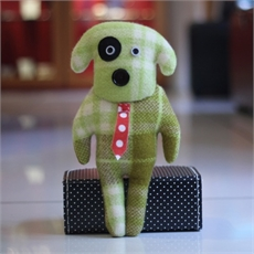 Blanket Toy Well Dressed Dog-child-The Vault