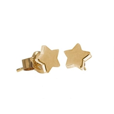 Boh Runga Stargazer Studs 9ct Gold-jewellery-The Vault