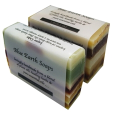 Layer Cake Soap 90 gram-blue-earth-The Vault