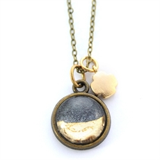 Petite Gold Foil Necklace-jewellery-The Vault