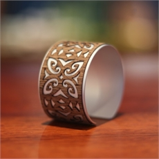 Alum Cuff Tribal Wooden-bracelets-and-cuffs-The Vault