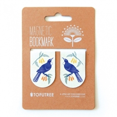 Magnetic Bookmarks Tui & Kowhai-miscellaneous-The Vault