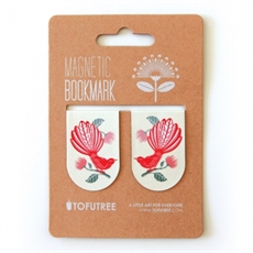 Magnetic Bookmarks Fantail & Pohutukawa-miscellaneous-The Vault