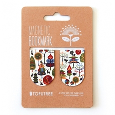 Magnetic Bookmarks Forest -miscellaneous-The Vault