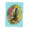 Tea Towel Botanical Fantail-artists-The Vault