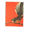 Tea Towel Fantail Orange-artists-The Vault