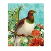 Lens Cloth Botanical Kereru-artists-The Vault