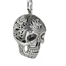 Mexican Skull Necklace Nick Von K-nick-von-k-The Vault