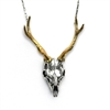 Stag Skull Pendant-jewellery-The Vault
