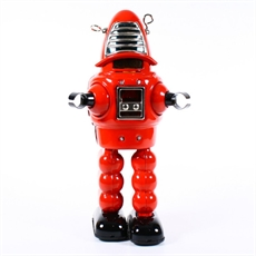 Tin Planet Robot Red 430 Boxed-fun-stuff-The Vault