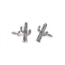 Cactus Cufflinks-cuff-links-The Vault