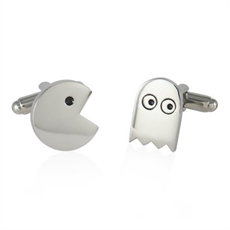 Pacman Cufflinks-for-him-The Vault