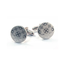 Fleur de Lis Cufflinks -for-him-The Vault