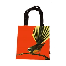 Bright Fantail Tote Bag-artists-The Vault