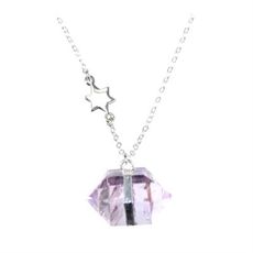 Nugget Necklace Star Short Amethyst-pam-kerr-The Vault